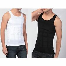 Men Underwear Body Slimming Tummy Shaper Belly shapewear Waist Girdle Shirt Vest