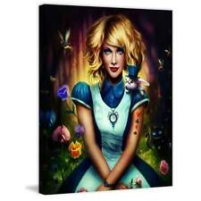 Marmont Hill Alice in Wonderland Painting Print on Canvas