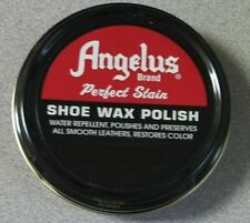 Angelus Shoe Boot Polish Shine Leather Paste Protector Waterproof 3 oz. Can
