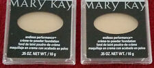 LOT OF TWO Mary Kay Creme to Powder Foundation. ENDLESS PERFORMANCE.SHADE OPTION