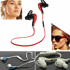 Running NEW Wireless bluetooth Headphone Stereo Headset Sports Earphone Earpiece
