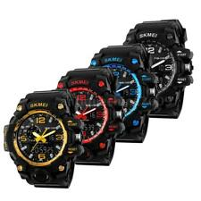 Hot SKMEI Sports Quartz Wrist Mens Analog Digital Waterproof Military Watch