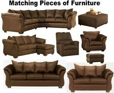 Brown Furniture Set Sofas Loveseat Sleeper Chair Chaise Sofa Chairs Sectional
