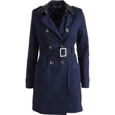 Juicy Couture Black Label 0769 Womens Twill Trench Coat BHFO