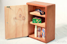 Wooden Medicine Cabinet - 3 shelves - Wall Mounted