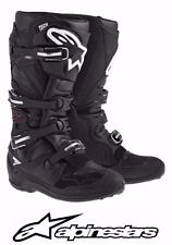 ALPINESTARS TECH 7 MOTOCROSS ATV DIRTBIKE MX BOOTS BLACK MENS SIZE