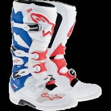 ALPINESTARS TECH 7 MOTOCROSS ATV DIRTBIKE MX BOOTS PATRIOT MENS SIZE
