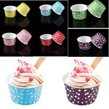 20X Paper Cake Cup Cupcake Wrapper Cases Muffin Baking Wedding XMAS Party Tools