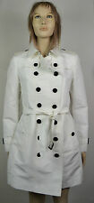 BURBERRY TRENCH DONNA-WOMAN TRENCH BIANCO-WHITE TG. 44 ART. 3904467 1006