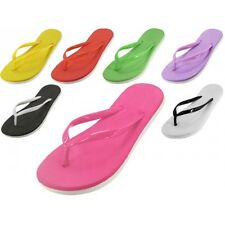 Womens Summer Casual Soft Jelly Rubber Flip Flops Beach Pool Sandals Thongs New