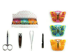 Butterfly Manicure Set Ideal Ladies Stocking Filler Christmas Gift REDUCED