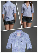 NWT! Abercrombie & Fitch Women's Classic shirts on sale now!!!