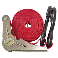 HEAVY DUTY 15' RATCHET TIE DOWN STRAP roof rack luggage strap car strap boot new