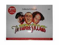 The Three Stooges 7 DVD Set Collector's Edition 11 Hours of Stooges NEW & SEALED