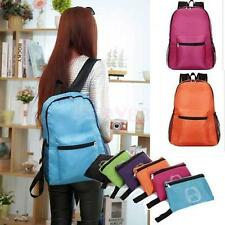 Outdoor Hiking Camping Backpack Schoolbag Notebook Bag Waterproof Foldable