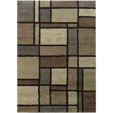 SHAG RUGS AREA RUGS CARPET FLOORING AREA RUG FLOOR DECOR NEUTRAL RUGS NEW