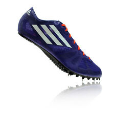 Adidas Adizero Prime SP Mens Purple Blue Running Sneakers Spikes Shoes