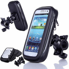 Waterproof Bicycle Bike Rotating  Mount Holder Case Cover for Nokia and LG Black