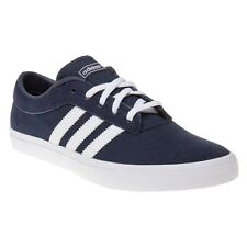 New Mens adidas Blue Sellwood Canvas Trainers Skate Lace Up