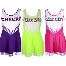 Adult & Girl Size High School MUSICAL Cheerleader Costume Outfit Dress Fashion