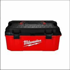 "Milwaukee 13"" Jobsite Work Box 48228010 26"" 48228020 Storage Container Contracto"
