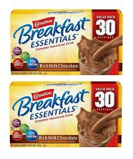 Carnation Breakfast Essentials Nutritional Choose Chocolate or Vanilla 30 ct