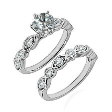0.75 Carat G-H SI3-I1 Diamond Engagement Wedding Solitaire Ring 14K White Gold