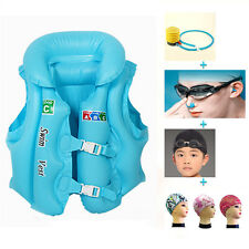 Baby Kids Float Swimming Set Aid Life Jacket Inflatable Swim Beach Vest RO