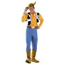 Deluxe Woody Disney Cowboy Costume Toy Story Halloween Fancy Dress
