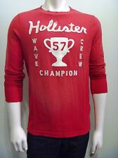 HOLLISTER by Abercrombie Men Westward Beach Long Sleeves Graphic T Shirt NwT M