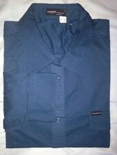 NWT Rocawear Teal Blue Solid Button Front Dress Shirt Big & Tall Size 5X