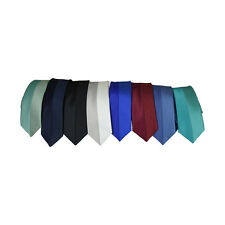 Youth Tie Ultra Soft Textured Satin Necktie Formal Teen Boy Kid Wedding Neck Tie