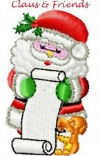CLAUS & FRIENDS - MACHINE EMBROIDERY DESIGNS ON CD