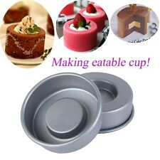 Mini Non-stick Cake Pan Set - Baking Tin Mousse Jelly Cup Mould Tool