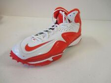 NEW Nike Speed Destroyer Football Turf Cleats - White/Orange (Multiple Sizes)