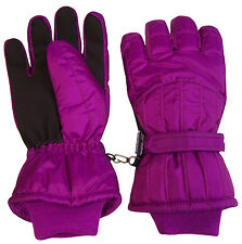N'Ice Caps Women's Cold Weather Thinsulate and Waterproof Ski Gloves with Ridges
