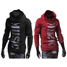 UN3F Men Hoodie Hooded Long Sleeve Sweatshirt Sweater Tops Jacket Coat Outwear