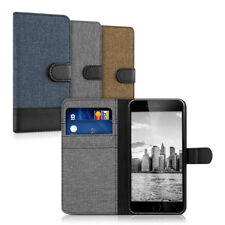 kwmobile  FABRIC WALLET PROTECTIVE COVER FOR APPLE IPHONE 6 PLUS 6S PLUS COVER