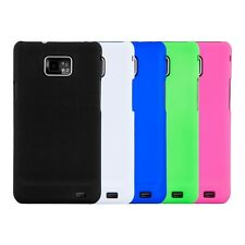 kwmobile GUMMED HARD CASE FOR SAMSUNG GALAXY S2 I9100 COVER RUBBER BUMPER SHELL