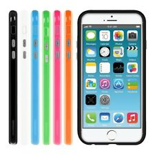 kwmobile TPU SILICONE BUMPER FOR APPLE IPHONE 6 6S ALU BUTTON SOFT CASE COVER