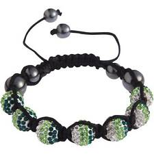 Ladies Stunning Shamballa Bracelet Crystal Disco Ball Friendship Bead Bangles