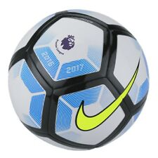 Nike Premier League Football, Nike Pitch 2016-2017 Football- White Blue Size 3-5