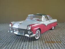 FRANKLIN MINT - 1955 FORD CROWN VICTORIA HARDTOP - 1/24 SCALE - USED