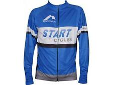 More Mile Start Cycles Team Long Sleeve Cycling Bike Jersey Top