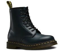 New Dr Martens docs womens NAVY BLUE smooth leather 8up 1460 boots.
