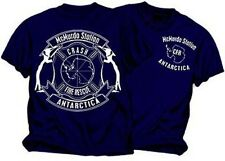 McMurdo Station Antarctica Crash Fire Rescue T-Shirt