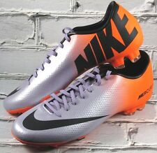 Nike Mercurial Victory IV FG Soccer Cleats Purple/Orange