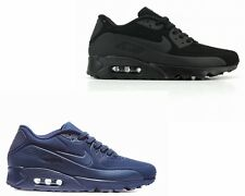 MENS NIKE AIR MAX 90 ULTRA MOIRE BLACK NAVY TRAINERS UK