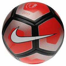 Nike Premier League Football, Nike Pitch 2016-2017 Football - Red - Size 3-5