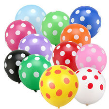 "12"" 5/10/20/50/100 pcs Latex Polka Dot Balloon Party Wedding Birthday Decoration"